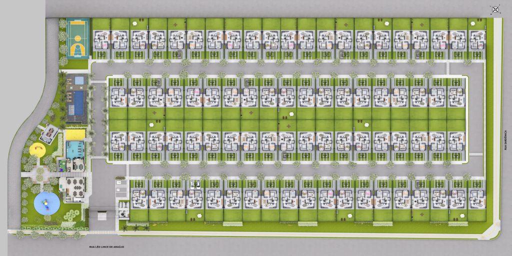 Kazas Jardins Bellágio Implantação Condomínio 2